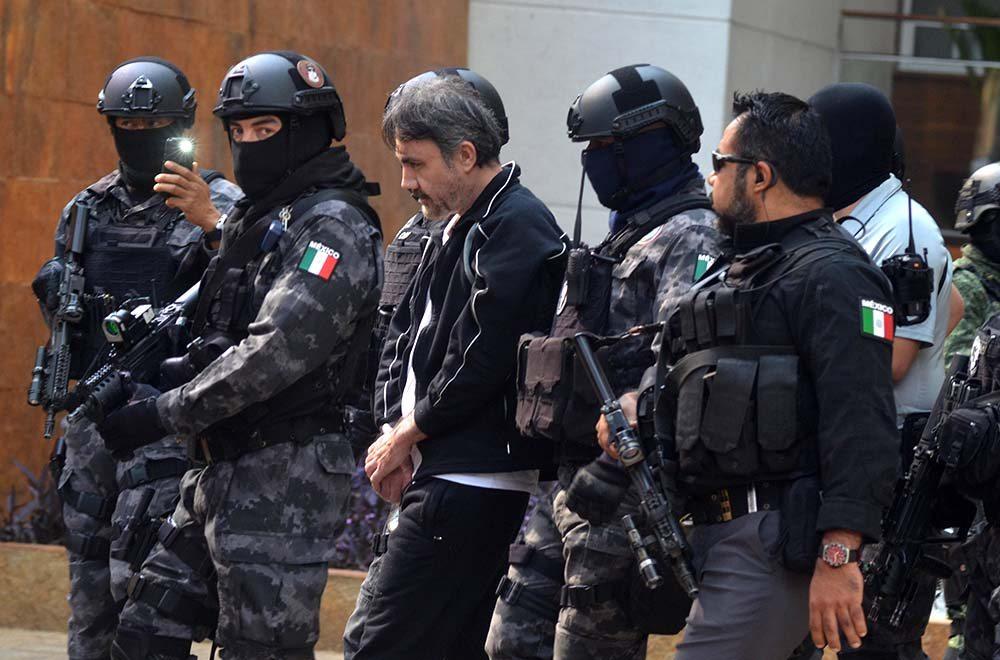CIUDAD DE MÉXICO, 02MAYO2017.- Esta madrugada fue detenido Damaso López Núnez, mejor conocido como