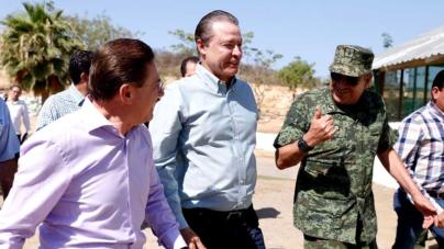 Gobernadores de Sinaloa y Durango se alían para hacer más segura la región