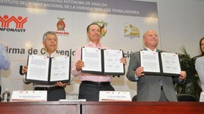 UAS e Infonavit colaborarán para impulsar el desarrollo de las ciudades