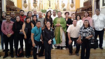 'A los que atentan contra la vida humana, a ustedes me dirijo, ¡ya basta!': rector de la Catedral