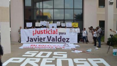 SOS PRENSA | Por ineficiente, periodistas clausuran Fiscalía Estatal en Sinaloa