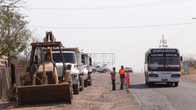 Inicia construcción de bulevar en la salida a Imala, Culiacán
