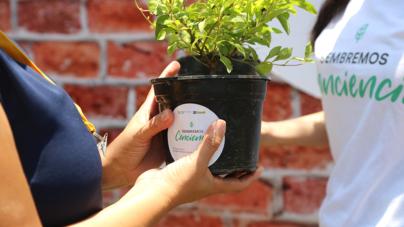 Coppel siembra conciencia ambiental