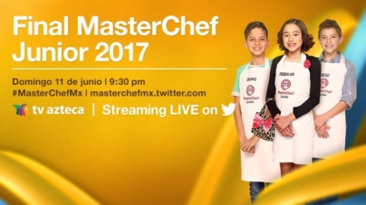 TV Azteca transmitirá la final de MasterChef Junior por Twitter