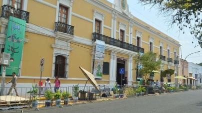 Pro Ciudad se adueña del espacio público frente al Masín con un parque de bolsillo