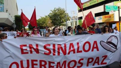 El grito de justicia convoca una vez más a la sociedad para exigir que pare la violencia en Sinaloa