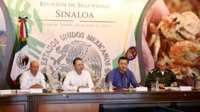 Gabinete de Seguridad Nacional analiza escenarios de seguridad en Culiacán y Mazatlán