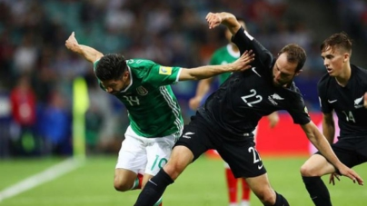 Con bronca incluida y sin el eeeeeee… México derrota a Nueva Zelanda en Confederaciones