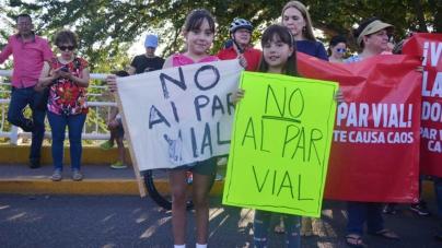 Ni con el cambio de rutas quedaron conformes los vecinos de la Chapultepec