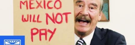 Vicente Fox le recuerda a Donald Trump que México no pagará el muro