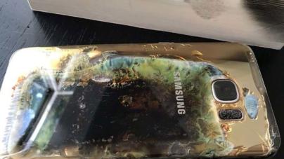 La historia se repite | Se incendia un Samsung Galaxy S7 Edge en México