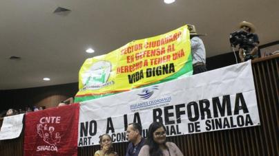 """""""Salario mínimo al diputado para que vea lo que se siente"""": ciudadanos"""