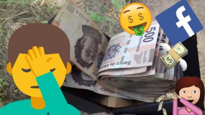 ¿Bromas de mal gusto o experimentos en redes sociales? | 20 mil pesos, culichis bromistas y un parque dañado