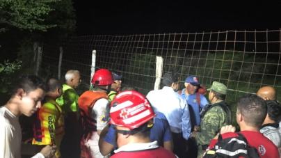 Rescatan a familias atrapadas en las cascadas de San Antonio, Culiacán