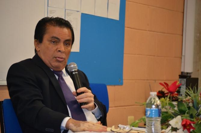 Combatir el crimen también mediante la educación, propone Saúl Lara