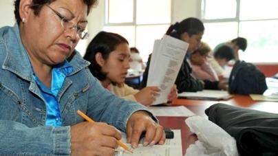 Unas 2 mil personas con educación básica trunca podrán concluirla