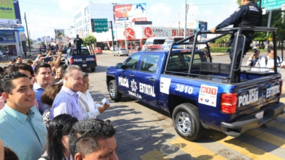 Gobierno estatal suma 139.8 millones de pesos en compra de patrullas