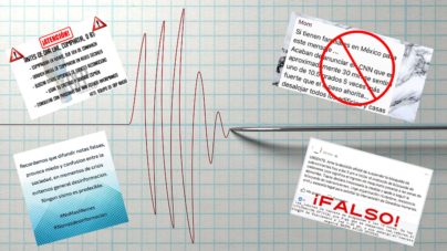 No compartas miedo | Revisar tus publicaciones evitará crear más tensión relacionada al sismo