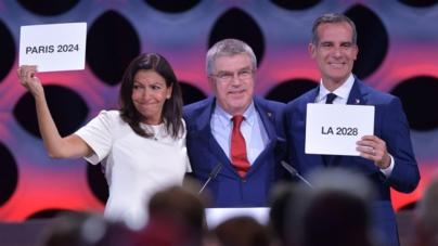 Eligen sedes de Juegos Olímpicos al doble: la del 2024 será París y la de 2028 Los Ángeles