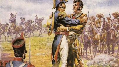 Pasajes de la historia | El abrazo que dio inicio a la independencia