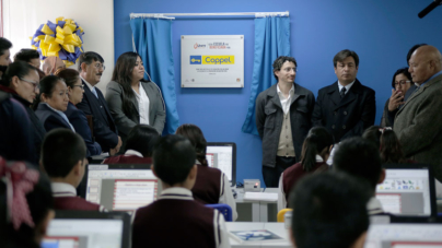 Coppel proporciona aulas de cómputo para escuelas destacadas en México