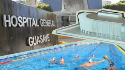 Nuevos casos de desvíos involucran la Alberca Olímpica en Mazatlán y la ampliación del Hospital General de Guasave