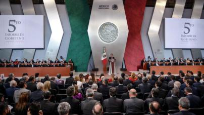 """Quinto informe de Peña Nieto   """"México lleva un buen rumbo"""""""
