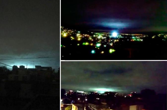 No eran extraterrestres… las luces del terremoto fueron por un fenómeno natural muy raro