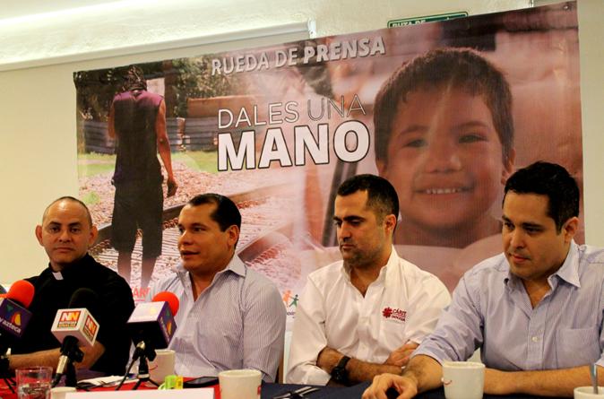 Dales una mano | Participa en el Movimiento Azteca #100 y apoya a Cáritas Diocesana
