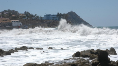 'Pilar' amenaza con vientos, lluvias fuertes y oleaje alto las costas de Sinaloa