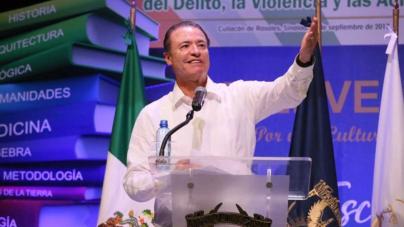 'La UAS, gran soporte para el desarrollo de Sinaloa': Quirino Ordaz