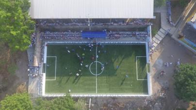 El pasto del nuevo estadio en Rosario sí viene de Dubai y está certificado por la FIFA
