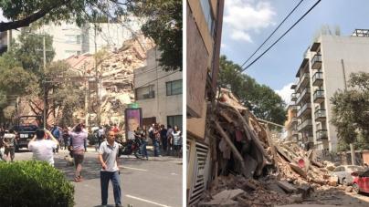 Facebook activa alerta por sismo de 7.1 grados en la Ciudad de México