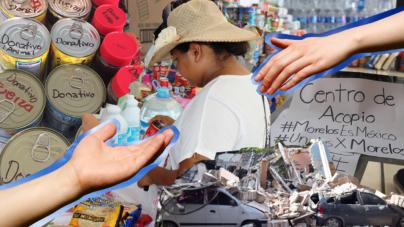 Por desconfiar del Gobierno, donantes se asegurarán que la ayuda llegue a damnificados