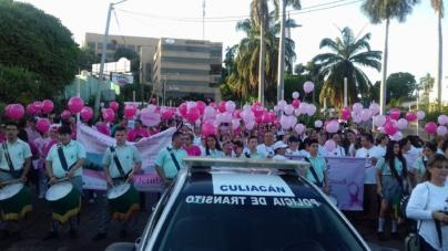 ¿Día de qué? | Mujeres culichis pintan la Obregón de rosa para hacer conciencia sobre el cáncer de mama