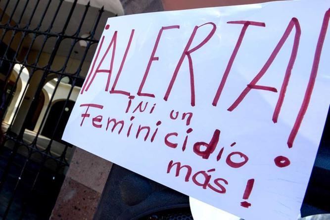 Repuntan feminicidios; fracasa alerta de género en Sinaloa