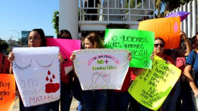 Nuestras hijas no | Exigen al Congreso de Sinaloa acciones ante ola feminicida