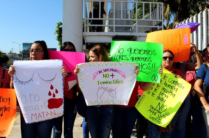 Nuestras hijas no   Exigen al Congreso de Sinaloa acciones ante ola feminicida