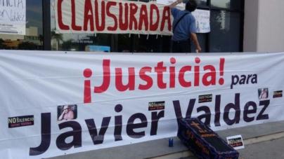 """Harán que griten las paredes """"¡justicia para Javier Valdez!"""""""
