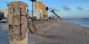 Remodelación del malecón de Mazatlán se terminará este año: Obras Públicas