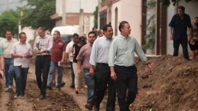 Ante falta de recursos en municipios, Gobierno estatal asume pavimentación en ellos