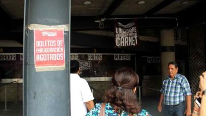 Boletos ¿agotados? | Revenden hasta en 500 pesos boletos para juego inaugural de los Tomateros
