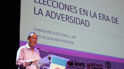 """""""Si los actores políticos no aceptan la derrota, entonces tenemos un déficit de cultura electoral"""": consejero del INE"""