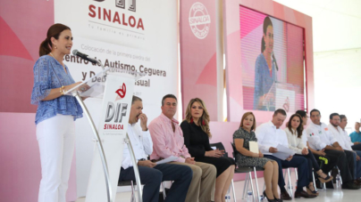 Inicia el DIF construcción de centros de autismo, de ceguera y debilidad visual en Sinaloa