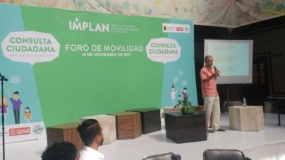 Catedrático español apuesta por mayor seguridad y libertad de tránsito para el peatón en Culiacán