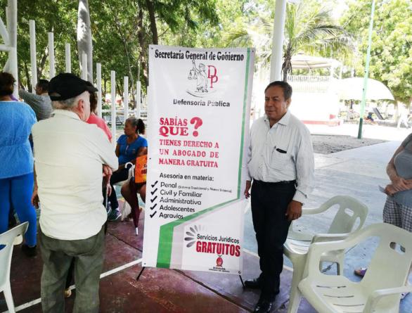 Defensoría Pública lleva servicios gratuitos a comunidades rurales