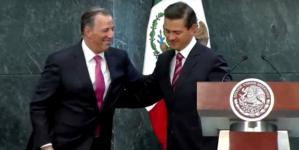 'Felicidades Pepe y el mayor de los éxitos': EPN a Meade al oficializar su renuncia de Hacienda