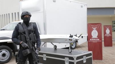 Llegaron los drones | Seguridad Pública presenta drones de uso militar