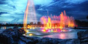 Ayuntamiento y empresarios inician rescate de las fuentes danzarinas