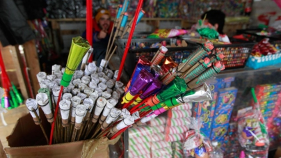 'Los fuegos pirotécnicos no son juguetes', advierte la Secretaría de Salud